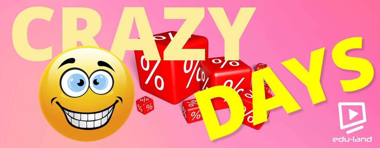 crazy days zľava na účtovné video kurzy
